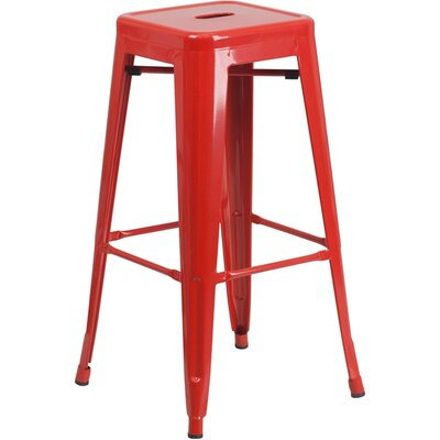 30 Bar Stool Finish: Red