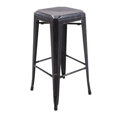 Backless Metal 30 Bar Stool Color: Copper