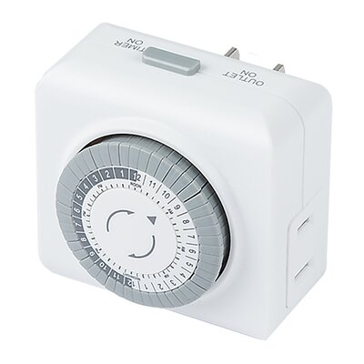 Landscape Mechanical Power Supply Timer