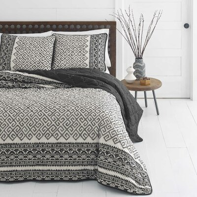Henson Reversible Quilt Set Size: King