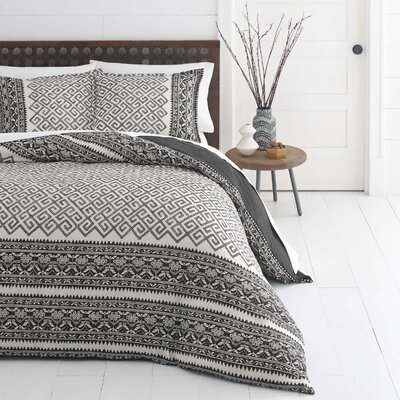 Henson Reversible Duvet Set Size: King