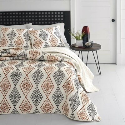 Noble Reversible Quilt Set Size: Twin