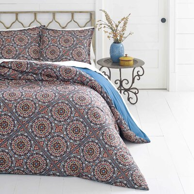 Jackson Reversible Duvet Set Size: Full/Queen