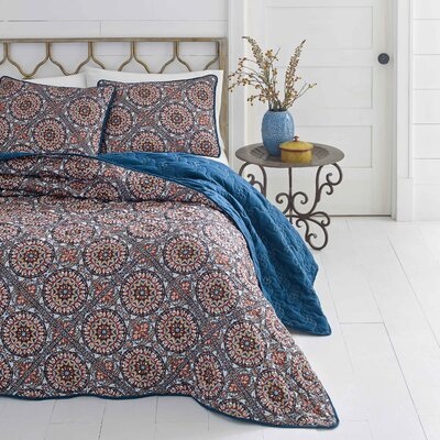 Jackson Reversible Quilt Set Size: King