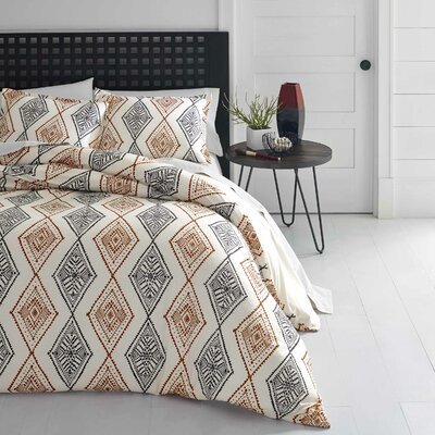 Noble Reversible Duvet Set Size: Full/Queen