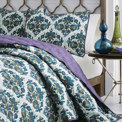 Dalila Reversible Quilt Set Size: Full/Queen