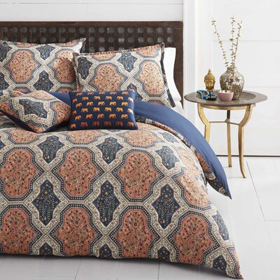 Evony Reversible Comforter Set Size: King