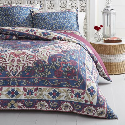 Danae Reversible Duvet Cover Set Size: Twin
