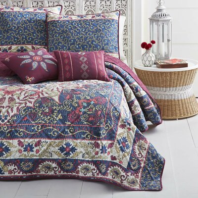 Danae Reversible Quilt Set Size: King
