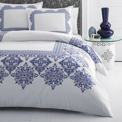 Daly Digital Printed Duvet Cover Set Size: Full/Queen