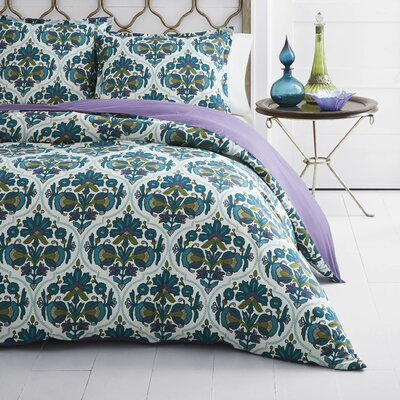 Dalila Duvet Cover Set Size: Full/Queen