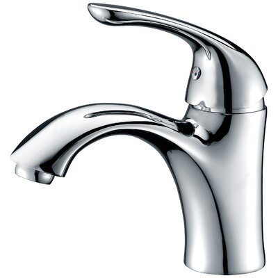 Clavier Single Handle Bathroom Sink Faucet Finish: Polished Chrome