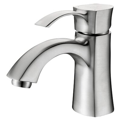 Alto Single Handle Bathroom Sink Faucet Finish: Brushed Nickel