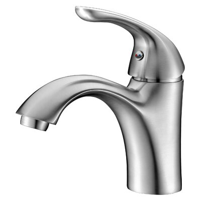 Clavier Single Handle Bathroom Sink Faucet Finish: Brushed Nickel