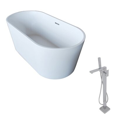 Dover 67 x 31.5 Freestanding Soaking Bathtub