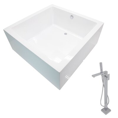 Apollo 55 x 55 Soaking Bathtub
