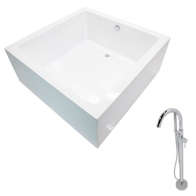 Apollo 55 x 55 Freestanding Soaking Bathtub