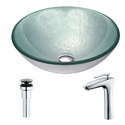 Spirito Circular Vessel Bathroom Sink
