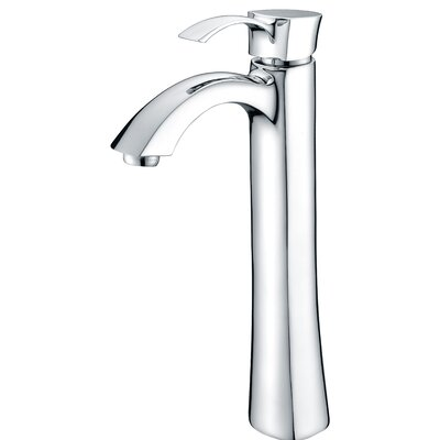 Harmony Single Handle Vessel Sink Faucet with Drain Assembly Finish: Polished Chrome