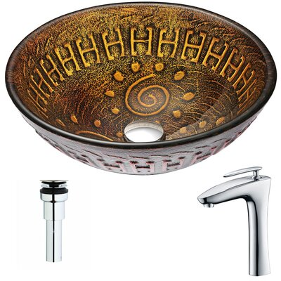 Opus Circular Vessel Bathroom Sink