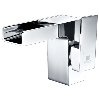 Zhona Single Handle Standard Lever Bathroom Faucet with Drain Assembly Finish: Polished Chrome