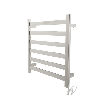 Note Wall Mount Electric Towel Warmer Finish: Polished Chrome