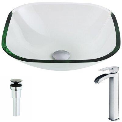 Cadenza Circular Vessel Bathroom Sink Faucet Finish: Polished Chrome