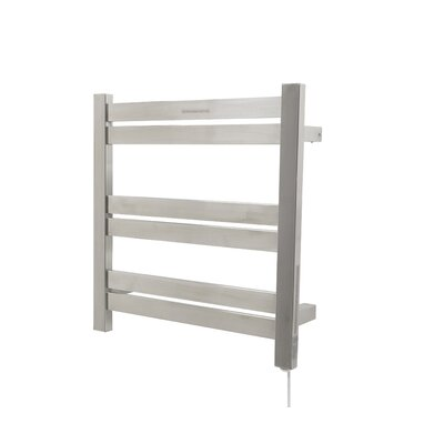 Starling Wall Mount Electric Towel Warmer Finish: Brushed Nickel