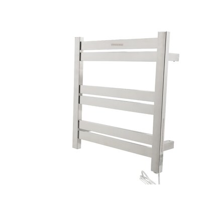 Starling Wall Mount Electric Towel Warmer Finish: Polished Chrome