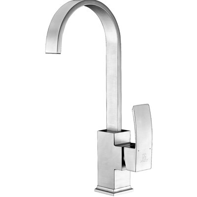 Opus Single Handle Kitchen Faucet Finish: Brushed Nickel