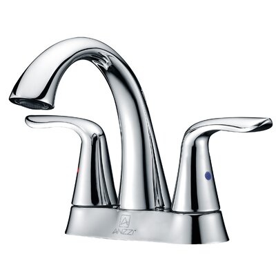 Cadenza Double Handle Bathroom Sink Faucet Finish: Polished Chrome
