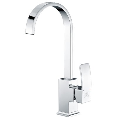 Opus Single Handle Kitchen Faucet Finish: Polished Chrome