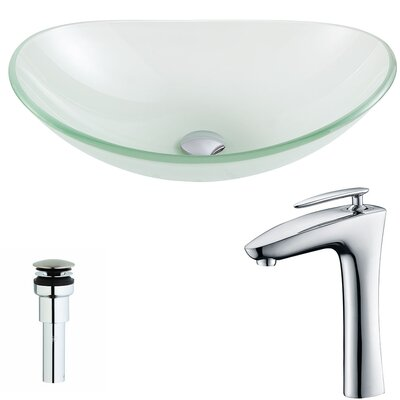 Forza Oval Vessel Bathroom Sink