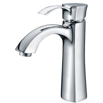 Rhythm Single Handle Single Hole Lever Bathroom Faucet with Drain Assembly Finish: Polished Chrome