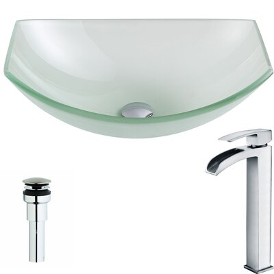 Pendant Specialty Vessel Bathroom Sink Faucet Finish: Polished Chrome