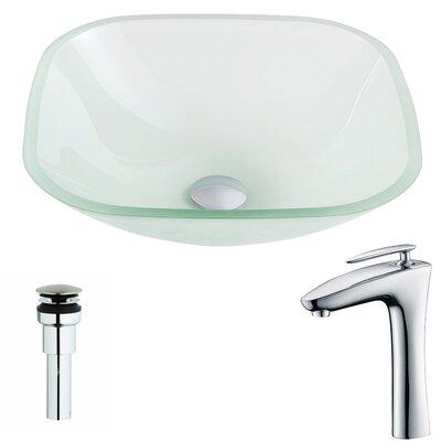 Vista Square Vessel Bathroom Sink