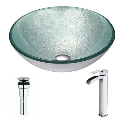 Spirito Circular Vessel Bathroom Sink Faucet Finish: Polished Chrome