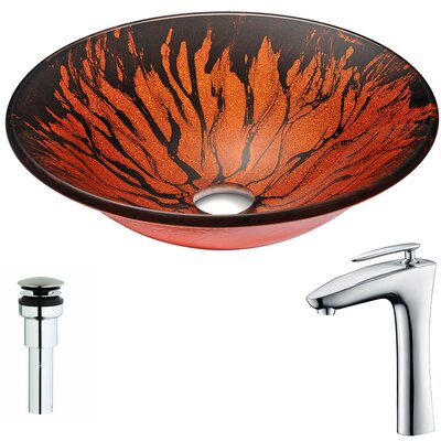 Forte Circular Vessel Bathroom Sink