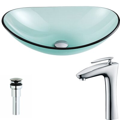 Major Oval Vessel Bathroom Sink