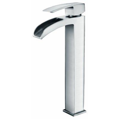 Key Single Handle Vessel Sink Faucet Finish: Polished Chrome