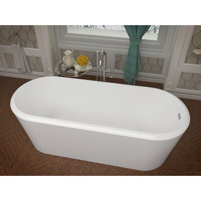 Century 66.8 x 27.5 Freestanding Soaking Bathtub