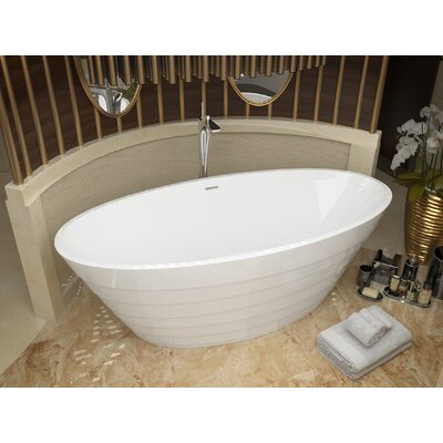 Nimbus 66.75 x 31 Freestanding Soaking Bathtub