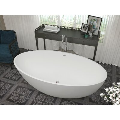 Cestino 66.5 x 36.4 Freestanding Soaking Bathtub