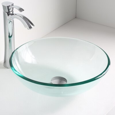Etude Circular Vessel Bathroom Sink