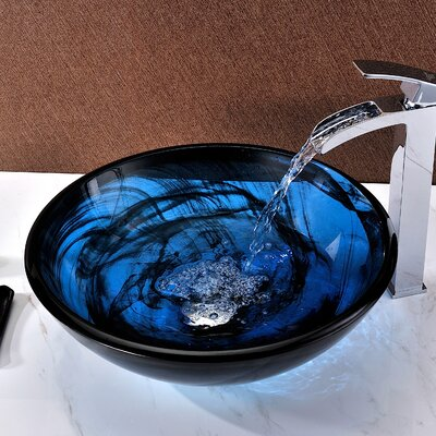 Soave Circular Vessel Bathroom Sink
