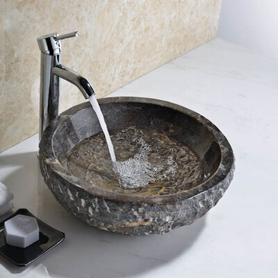 Umbral Circular Vessel Bathroom Sink