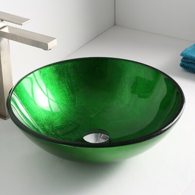 Melody Circular Vessel Bathroom Sink