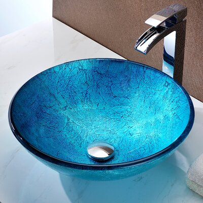 Accent Circular Vessel Bathroom Sink