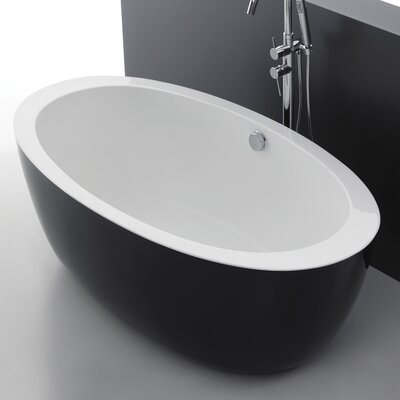 Apollo 67 x 35.4 Freestanding Soaking Bathtub