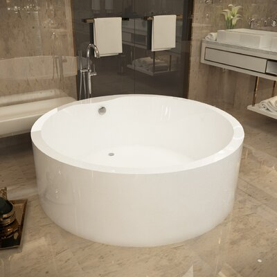 Rotunda 59 x 59 Freestanding Soaking Bathtub